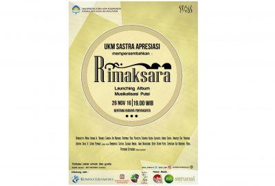 Spasi Rilis Album Musikalisasi Puisi (Serunai / Poster oleh Spasi)