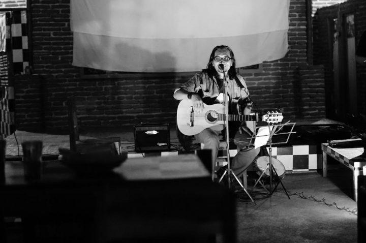 Ary Juliyant di Pertunjukan Tausiyah Bunyi (23. 01) (Serunai. Foto Poetra Januar) (3)