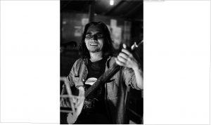 Ary Juliyant di Pertunjukan Tausiyah Bunyi (23/01) (Serunai / Foto: Poetra Januar)