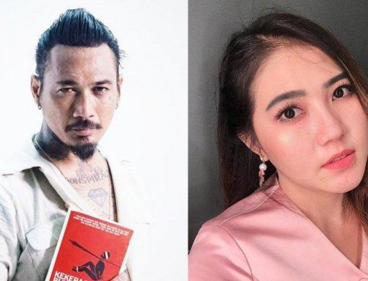 Jerinx SID dan Via Vallen (Foto; Tribunnews)