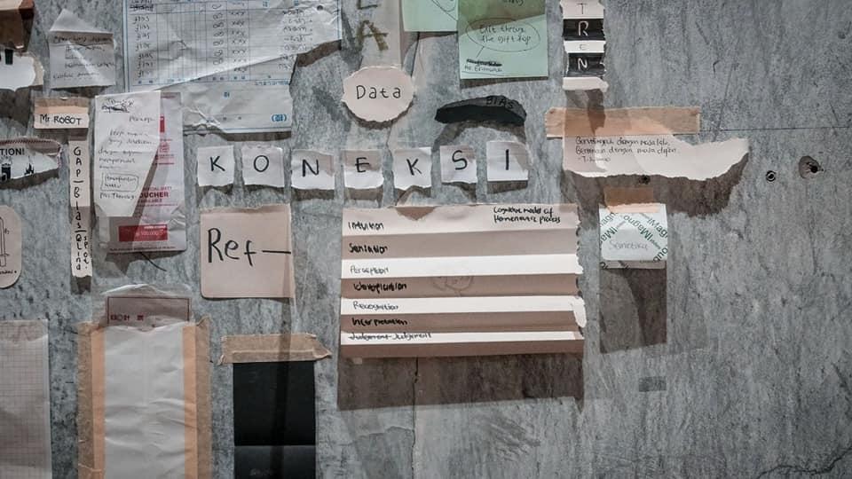 Gambar 7: Map For Fictional Teritory, Karya: Cecil Mariani, dkk. Sumber: http://www.studiohanafi.com/workshop-paralaksis-institut-sesi-ke-ii/.